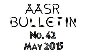AASR Bulletin 42