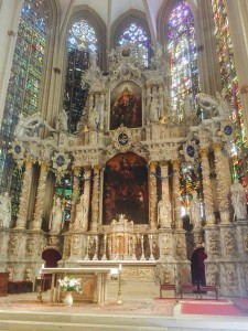Altar of Erfurt Cathedral